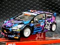 SCX 1/32 スロットカー  A10209◆FORD FIESTA RS  WRC ST-RX43 RALLY #43/KEN BLOCK  4x4,ライト点灯モデル★ケン・ブロック再入荷!