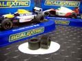 オリジナル・メイド 1/32  ウレタン・スリックタイヤ◆Scalextric/マクラーレンMP4-6 & ウィリアムズFW14b  F1用◆リヤ2本set     ハイグリップ from U.S.A.★スケレF1に!