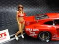 "RACER / SIDEWAYS 1/32 フィギュア  SWFIG-010  ◆""Hawaiian tropics"" Girl Figure  ""INNA""  インナ/ハワイアン・トリピクスガール   限定生産モデル・ハンドペイント ★入荷完了!"