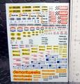 1/32 スロットカー用 ウォータースライドデカール  ◆ブリティッシュ レーシング スポンサー MIX セット   内容多数★これは便利!