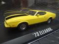 """GreenLight 1/43  ダイキャストモデル  ◆「バニシングイン60」 1971 マスタング マッハ1 """"エレノア""""   映画バニシングin60で大暴れした初代エレノア!★ムービーカーコレクション!"""