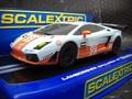 "scalextric1/32 スロットカー C3283◆LAMBORGHINI GALLARDO GT-R  ""GULF ""GT2  Le Mans 2010 F.Giroix & R.Goethe   ガルフ登場★買い逃さないでね!"