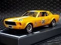 "Pioneer 1/32スロットカー PO65★1968 Mustang Notchback  #20 Bob ""Krazy"" Kramer --metallic yellow-- ★今すぐどうぞ!"