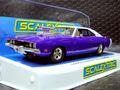 scalextric1/32 スロットカー C4148★Dodge Charger R/T  -PURPLE ROAD RACING CAR- ダッジチャージャーR/T ブロアー付きの最強マッスルカー入荷!