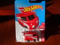 ホットウィール 1/64 ダイキャストモデル ★MICRO VW BUS / RED-VARSION ★カワイイVWバスにレッドが登場!!