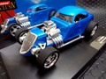 "Carrera Exclusiv 124 スロットカー  20220◆ '34 Ford Hot Rod, ""High Performance""  ライト点灯!    メーカー絶版・アナログモデル★希少・お勧め!"