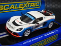 Scalextric 1/32 スロットカー  Lotus Exige R-GT  #16   ハイディテールモデル 前後ライト点灯★楽しい一台です!
