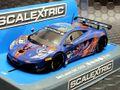 "Scalextric 1/32 スロットカー C3850◆McLaren 12C GT3, Von Ryan Racing""  #88/ Bruno Senna、Rob Barff    カッコいいよ!★今すぐ ご注文を!!"