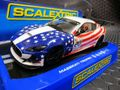 Scalextric 1/32 スロットカー C3603◆Maserati Trofeo #20 星条旗カラー ハイディティールモデル★前後ライト点灯!
