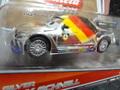 """Carrera-Go スロットカー 1/43  61290 NEW◆""""SILVER""""  Max Schnell  ディズニーピクサー/CARS2  カレラGoは1/32のコースでそのまま走れます。 出た!きらきらのマックスシュネル★激レア・希少モデル!"""
