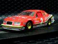 """Scalextric 1/32 スロットカー  C4067◆Ford Thunderbird  """"STOCK-CAR"""" #2 Red & White.    新製品サンダーバードのゼッケン2号車入荷!★クァーズカラーをイメージしたモデル!"""