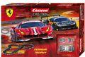 """Carrera Evolution 132 コースセット  20025230◆Ferrari Trophy  """"フェラーリ トロフィー"""" set      フェラーリ 488 GT3 2台入りフルセット 全長6.3m 人気のフェラr-リ488、2台入りset!★待望のアナログset 新製品!"""