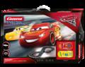 Carrera 1/32 アナログコースセット 25226◆ Disney/Pixar『CARS3』  ホーム サーキットセット  、マックィーンとダイナコ・クルーズ2台入り・コントローラー・電源フルセット ★入荷しましたよ!