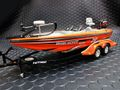 "Action 1/24 ダイキャストモデル  ◆#20 Tony Stewart  ""HOME DEPOT""  RANGER COMANCHE Bass Boat & Trailer   NASCAR公式商品◆マニア必見の絶版モデルが再入荷!!"