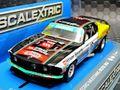 Scalextric 1/32 スロットカー C3728◆1969 Ford Mustang Boss 302   #18/John Bowe. 1969, Clipsal 500  ハイディティールモデル★マスタングに素敵な新製品!◆入荷しました!