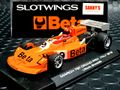 "Slotwings 1/32 スロットカー  W045-02◆March 761 F1  ""Beta"" #9/Vittorio Brambilla   1976 Italian Grand Prix. ★マーチ761 最新モデル・入荷済み!"