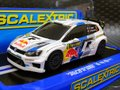 "scalextric 1/32 スロットカー  C3525◆Volkswagen Scalextric VW Polo WRC "" Red-Bull""  #8/Sebastien Ogler & Julien Ingrassia Rally Sweden 2013 レジスタントモデル  ★再入荷しました!"