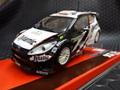 SCX 1/32 スロットカー   A10113◆ Ford Fiesta WRC #23 Kosciuszko Dynamics Rally Jordan 2010  ライト点灯★4WDモデル!