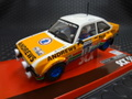 1/32 SCX スロットカー  A10147◆ FORD ESCORT MK2 #10/Paul White  Winner Lombard RAC Rally  1977  エスコートはいいね!★前後ライト点灯!