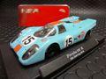 """NSR 1/32 スロットカー   1175sw◆Porsche 917k  """" Gulf """"  Sebring 1970    #15/ Pedro Rodriguez & Leo Kinnunen   人気のガルフ★好評出荷中!"""