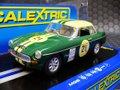 Scalextric 1/32 スロットカー  c3631◆MGB  #21/Green   2015年夏・話題の新製品! ★前後ライト点灯・ハイディティールモデル!!