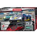 Carrera Evolution 132 コースセット 25240◆ Super Cars Set  「スーパーカーズ」set  最新コルベットC8Rとランボルギーニ、2台入りフルセット/全長5.3m ★最新製品・お買い得なアナログ仕様!