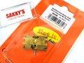 """スロットイット 社製 スロットカーパーツ  SP28◆ Multifunction Brass tool Steel Plug and M3 Screw    SP21プロフェッショナル""""エクストラクター""""ピニオン プレスと一緒にお使いください。  モーターを壊さない為にもプロ仕様の一級品を。◆入荷完了!"""