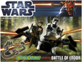 Scalextric 1/32 スロットカー  C1288◆スターウォーズ Battle of Endor Star Wars Set  エアロバイク2台付・セット  レーザーガンが光る!お勧めの楽しいset ★スターウォーズ!!
