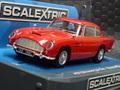 Scalextric 1/32 スロットカー C3722F◆Aston Martin DB5  スケレ今年最後の新製品! 真っ赤なDB5が素敵!