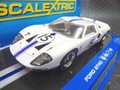 """scalextric1/32 スロットカー  C3315◆Ford GT40   #15 Team """"Ford of France"""" Le Mans '66   ライト&テール点灯★海外取り寄せ品・再入荷。"""