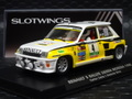 Slotwings 1/32 スロットカ-    W037-02◆ RENAULT 5 TURBO Renault 5 Turbo  #4/Sainz & Boto  Rally Sierra Morena 1985  サインツのルノー5 ターボ★入荷!