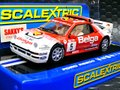 "Scalextric 1/32 スロットカー  C3493◆Ford RS200  ""Belga"" #5/R.Droogmans - R.Joosten, 1986 Rally 24hr Winner  ライトも点灯・ハイディテールモデル  入荷しました!★正規輸入品!!"