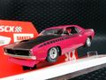 SCX 1/32 スロットカー U10365X300-PI◆Plymouth Cuda 1970 「Pink」  ―500 Limited Edition/ Serial No's  レア!★ちょっぴり再入荷!