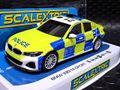 "Scalextric 1/32 スロットカー C4165◆ BMW 330i M-Sport  ""Police Car""  with Siren and Roof Lights   サイレント付き、パトライトも点灯するハイディティールモデル★ NEWモデル入荷!"