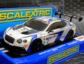 Scalextric 1/32 スロットカー   C3515◆BENTLEY CONTINENTAL GT3  #2    Super Resistant model!
