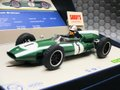 Scalextric 1/32 スロットカー C3658a◆ Cooper-Climax T53   #1 / J. Brabham   1960 British Grand Prix Winner  Lmited-Edition/3000  化粧箱入り限定モデル★ジャック・ブラバム!