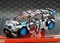 SCX 1/32 スロットカー A10157 ◆FORD FIESTA RS WRC #43/KEN BLOCK  RALLY CHAMPION  4x4,ライト点灯モデル★ケン・ブロック、再入荷しました!