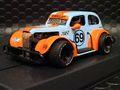 "Pioneer 1/30 スロットカー P062◆ '37 Chevy Sedan. --Legends Racer--  ""GULF"" #69   '37 シボレーセダンに「ガルフ」が登場!★大好評出荷中。"