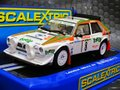 Scalextric 1/32 スロットカー C3638◆ Lancia Delta S4   Rallye Sanremo of 1986   #8/Dario Cerrato, with co-driver Giuseppe Cerri   新作・トティップカラーのランチャ・デルタ! 2015秋の新製品!★入荷しました!