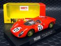 Slot It / Policar 1/32 スロットカー CAR06a◆Ferrari 330 P4  #21/ Ludovico Scarfiotti, Mike Parkes   2nd Le Mans 1967 ポリカーから待望のフェラーリ330P4が登場するぞ!!★入荷完了!