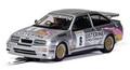"Scalextric 1/32 スロットカー C4145◆Ford Sierra RS500  ""LISTERINE"" Graham Goode Racing.  BTCC - Donington Park. ハイディティールモデル 前後ライト点灯!◆BTCC仕様のシエラにニューモデル!"
