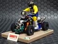 Avantslot 1/32 スロットカー  30403◆ Quad 450  Dakar 2009   4WD!  どんな坂、こんな坂、ぐいぐい走る!★これは面白いで!!