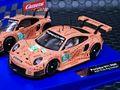 """Carrera Digital 132 スロットカー 30964◆PORSCHE 911  RSR  Porsche 911 RSR  """"Pink Pig Design"""" #92. アナログ・デジタル両用!★最新 911-RSR 入荷!"""