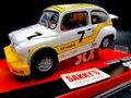 SCX 1/32スロットカー A10121◆Fiat Abarth 1000   Berlina Corsa 1967 #7  インライン・ライト点灯★再入荷しました!! (^^) !