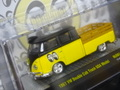 "M2 1/64 ダイキャストモデル  MiJo◆ ""Mooneyes""  1961 VW VOLKSWAGEN Double Cab Truck  USA Model  限定/ムーンアイズ・エコノライン!  現地厳選仕入れ・特選商品!  そのまま飾れるアクリルケース付です! ★2400個 限定商品!"