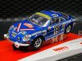 """SCX 1/32 スロットカー U10238◆ Renault Alpine A110 """"Mouton""""  Rally Monte Carlo 1976  ライト点灯モデル!★お薦めのモデルです。"""