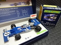 Scalextric 1/32 スロットカー C3655a◆ Tyrrell 003 F-1 #11/JACKIE STEWART. GP-Legends Lmited-Edition/4000  化粧箱入り限定モデル★ジャッキースチワート!