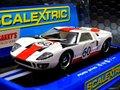 Scalextric 1/32 スロットカー C3727  ◆Ford GT40  #60- Le Mans 1966  ヘッドライト点灯・ハイディティールモデル 2016春の新製品!★入荷完了!