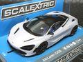 scalextric1/32 スロットカー C3882◆McLaren 720S   Glacier White   マクラーレン720Sが新登場!★2018年夏の新製品!