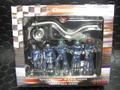 Carrera 1/32 コースサイド アクセサリー  21110◆ピットクルー&メカニック /フィギュア 5体SET 給油ホース&ロリポップ 付き   Pit Cruw Mechanics ★貴方のサーキットに!